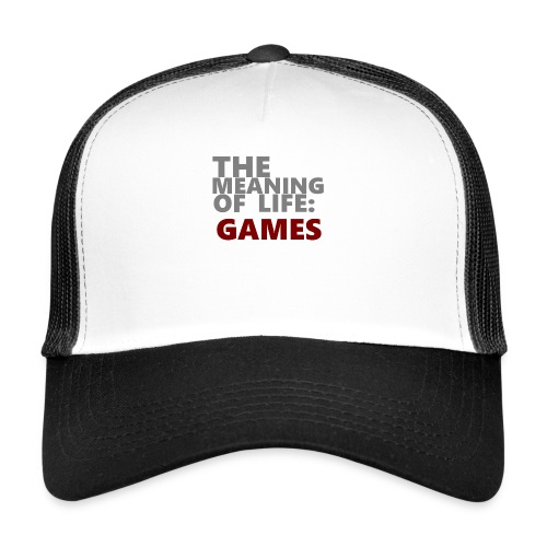 T-Shirt The Meaning of Life - Trucker Cap