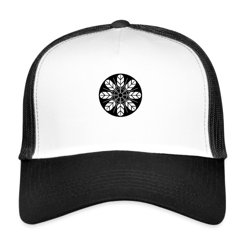Inoue clan kamon in black - Trucker Cap