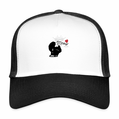 gatto meow - Trucker Cap