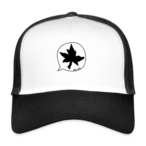 Speech Bubble Last Life - Trucker Cap