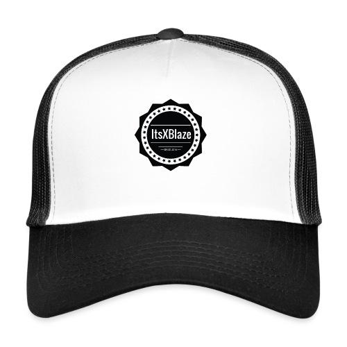 ItsXBlaze Logo 2 Women V-neck option 2 - Trucker Cap