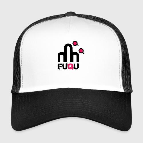 T-shirt FUQU logo colore nero - Trucker Cap