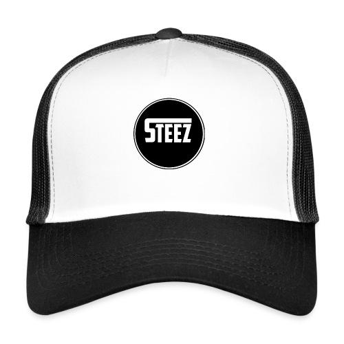 Steez t-Shirt black - Trucker Cap