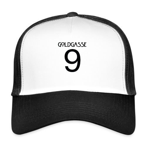 Goldgasse 9 - Back - Trucker Cap