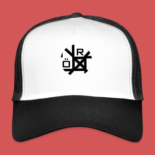 Nörthstat Group™ TecH | iCon - WHT.Knapsack - Trucker Cap