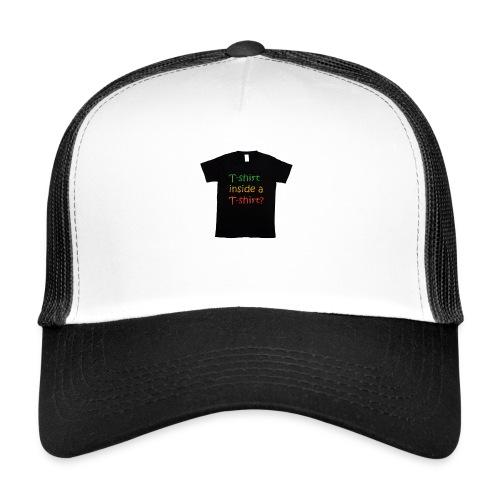 mars-one-drawing-tshirt-black - Trucker Cap