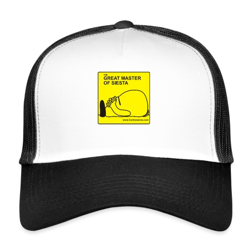 Great Master of Siesta - Trucker Cap