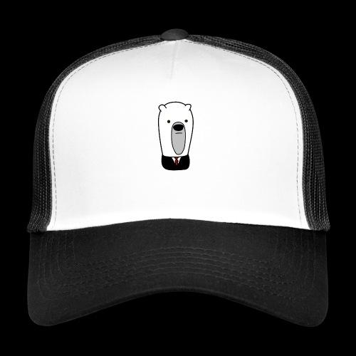 officel_polarbear_shop_logo - Trucker Cap