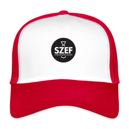 Logo-szef-utrzymania-ruchu_ok_net_black - Trucker Cap