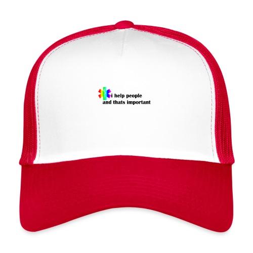 i help people - Trucker Cap