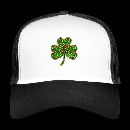 Celtic Knotwork Shamrock - Trucker Cap