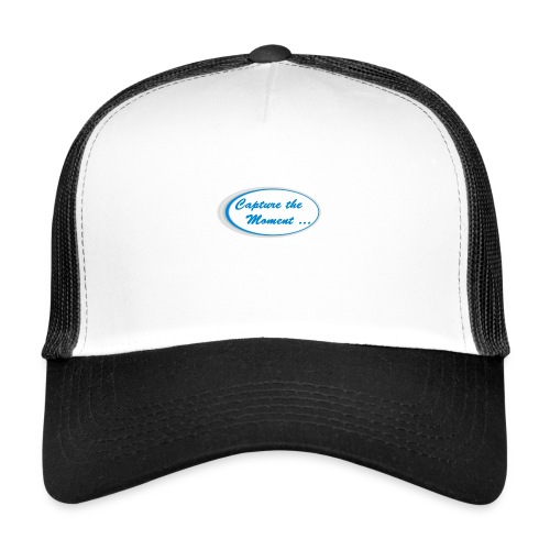 Logo capture the moment - Trucker Cap