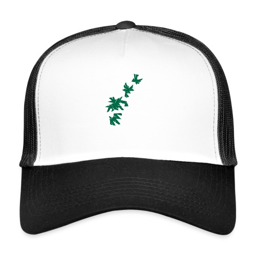 Green Leaves - Trucker Cap