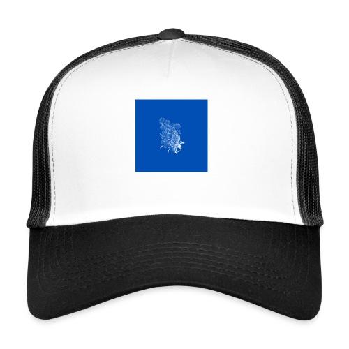 Windy Wings Blue - Trucker Cap