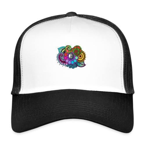 Coloured Nature Mandala - Trucker Cap
