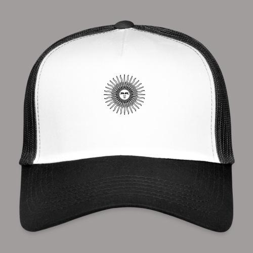 FOLK HORROR REVIVAL Black on white - Trucker Cap