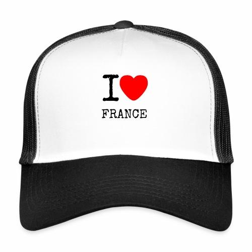 I Love France - Trucker Cap