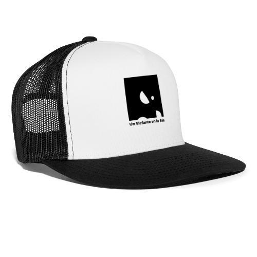 Logo Elefante Negro - Gorra de camionero