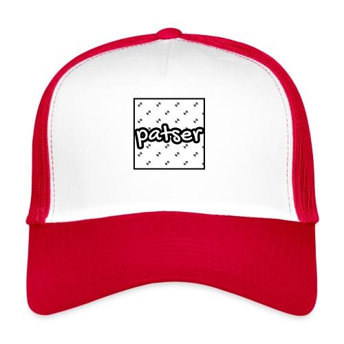 Patser - Basic Print White - Trucker Cap