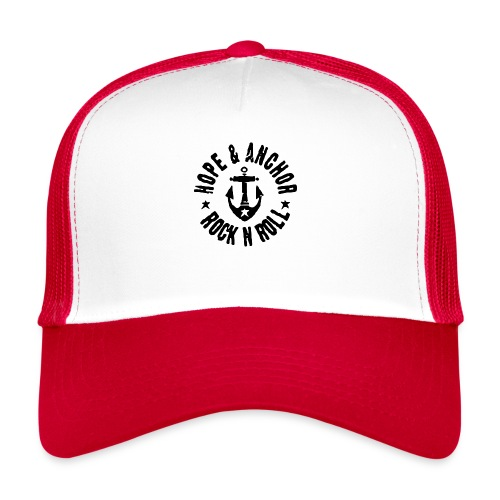 Hope & Anchor - Rock´n´Roll - Trucker Cap
