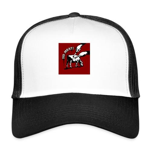 BUTTON 'NO MEAT!' - Trucker Cap