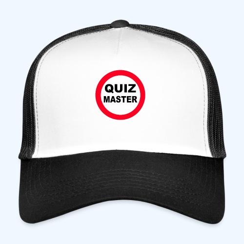 Quiz Master Stop Sign - Trucker Cap