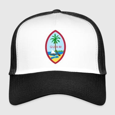 Guam - crest - Trucker Cap