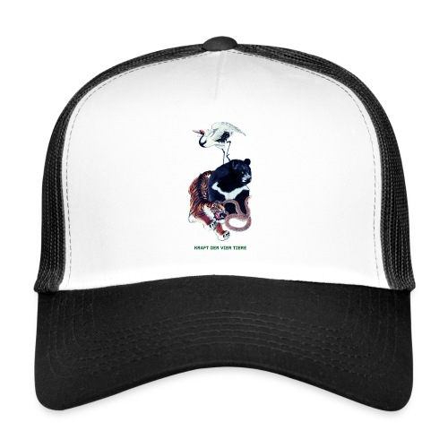 Long Ping - Bär, Kranich, Tiger, Schlange - Trucker Cap