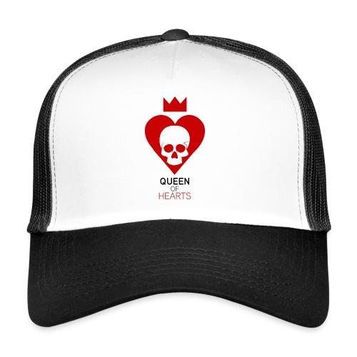 Tee shirt manches longues Reine des Coeurs - Trucker Cap