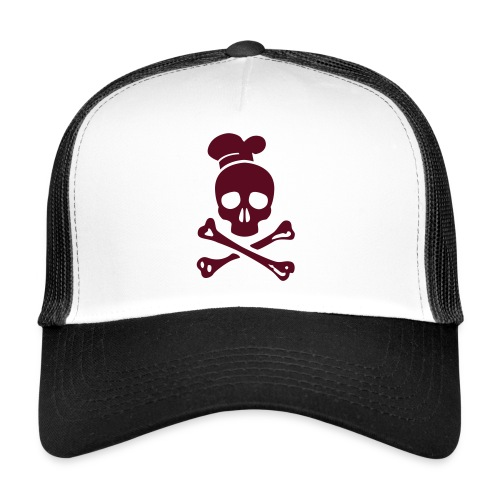 cannibal cook vector - Trucker Cap