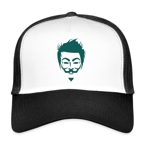 Anonymous Hipster - Trucker Cap