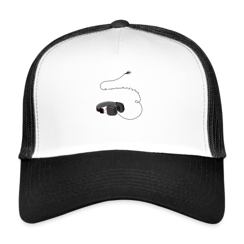 Tee shirt manches longues casque soundtrack - Trucker Cap