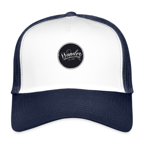 Wonder T-shirt - oldschool logo - Trucker Cap