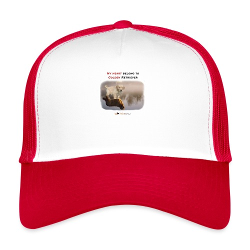 Golden Retriever Big and Small - Trucker Cap