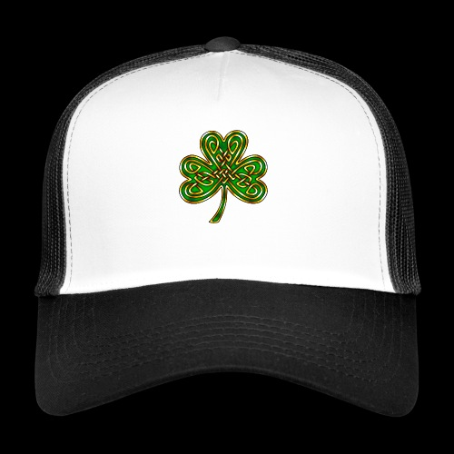 Celtic Knotwork Shamrock - Trucker Cap