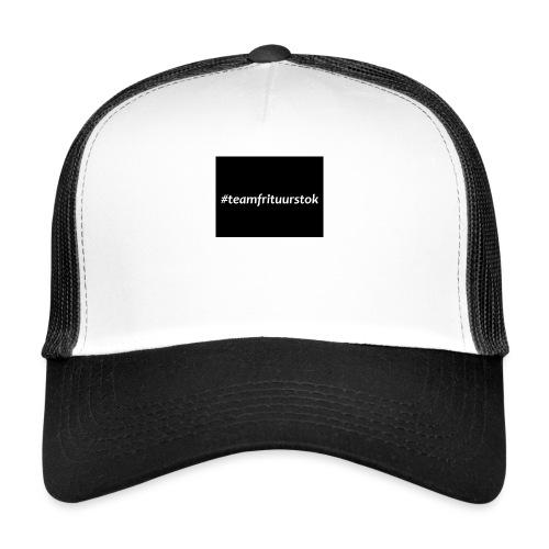 #teamfrituurstok - Trucker Cap