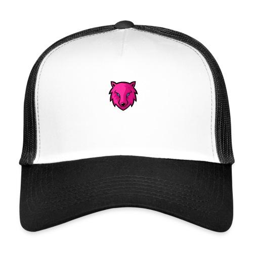 LoneWolf rosa - Gorra de camionero