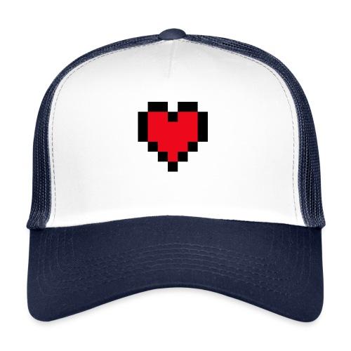 Pixel Heart - Trucker Cap