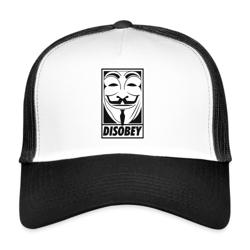 Anonymous disobey - Trucker Cap