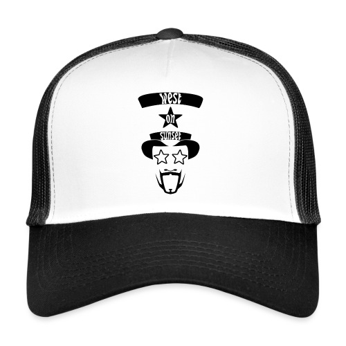 westonsunset_head - Trucker Cap