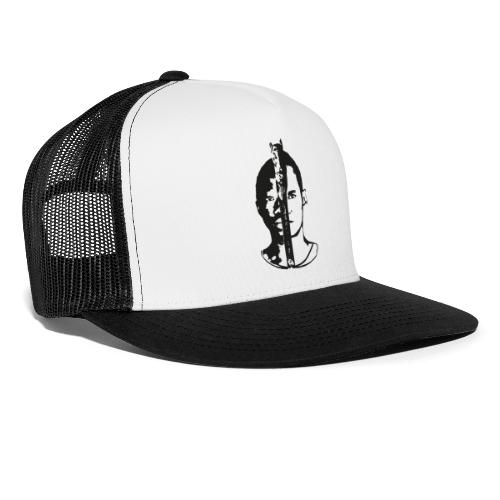 Frères - Black & white  - Trucker Cap