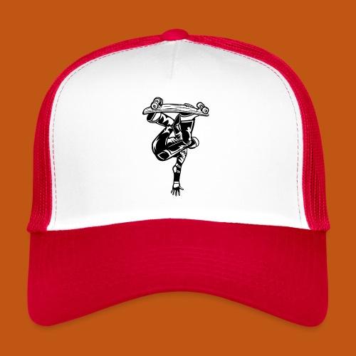 Skater / Skateboarder 03_schwarz - Trucker Cap