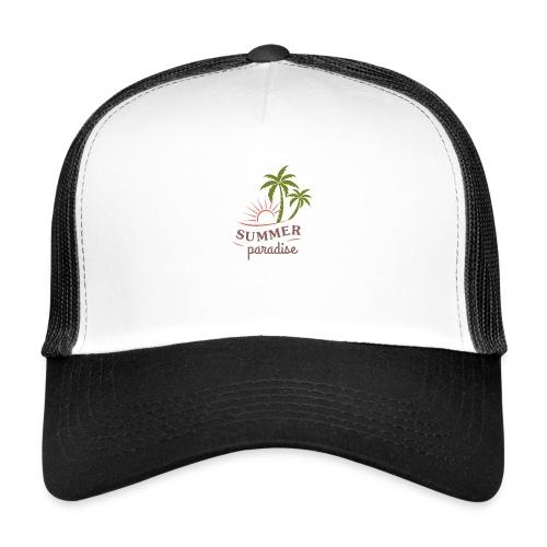 Summer paradise - Trucker Cap