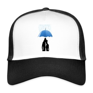 Love under the umbrella - Trucker Cap