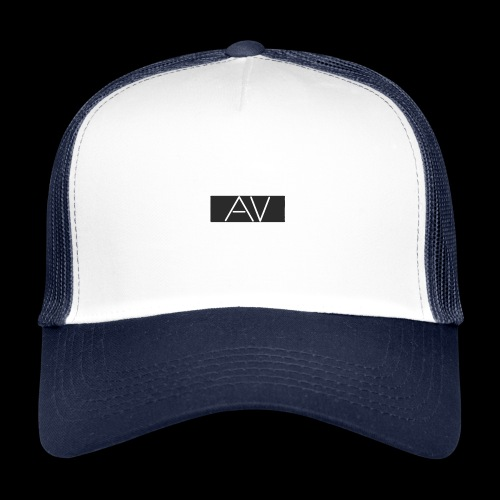 AV White - Trucker Cap