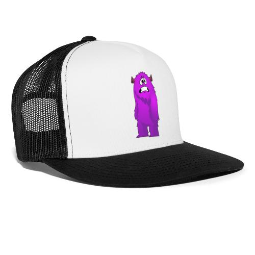 Lila Monster 10 - Trucker Cap
