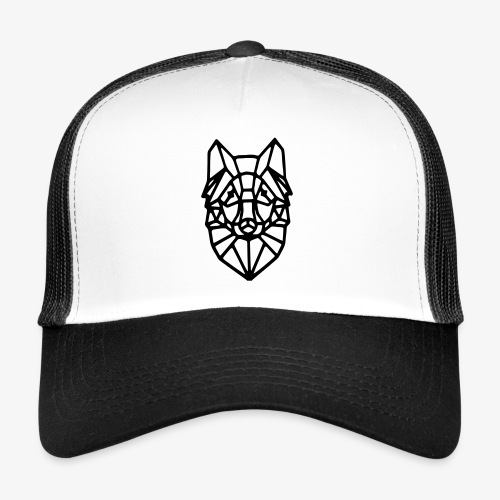Geometric WOlf - Trucker Cap