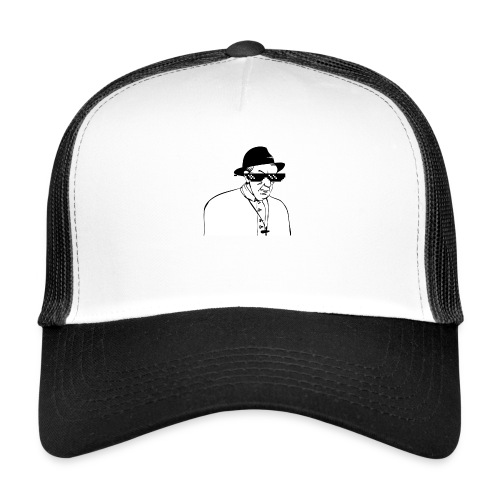 pope slaps woman meme - Trucker Cap
