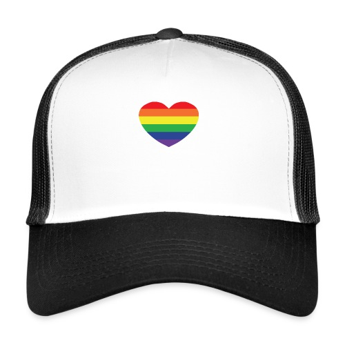Rainbow heart - Trucker Cap