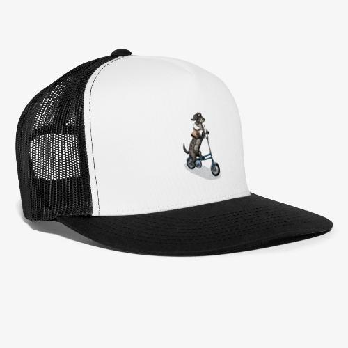 Dog Cyclist - Trucker Cap